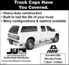 100 Truck Caps Pa Have You Covered J J TRUCK EQUIPMENT Somerset PA