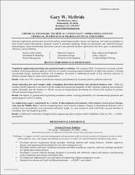 Experienced Chemical Engineer Resume Examples Unique Sample Engineering Resumes Of Process