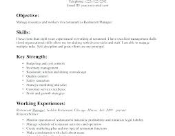 Waitress Resume Examples This Is Example Objective For Server Unforgettable Sample Position No Experience