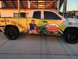 100 Win A Truck Last Chance To Maybe Kick For The