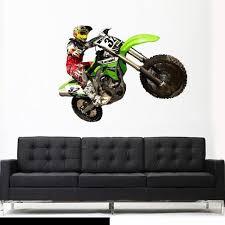 30 best dirt bike wall stickers bike chopper motorcycle wall