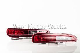 blackout rear fog lights r56 r57 r58 r59 way motor works