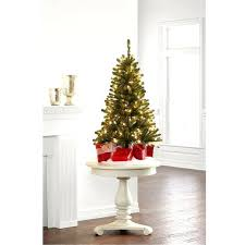 4 Foot Christmas Tree Nice Looking Ft With Lights Led White Blue Trees Artificial