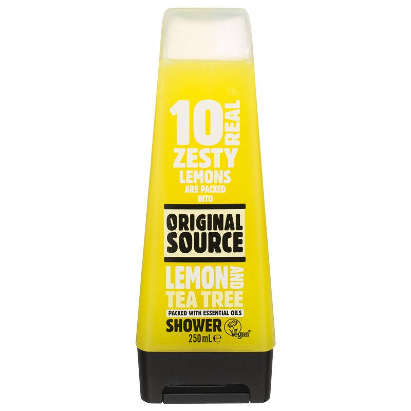 Original Source Zesty Lemon and Tea Tree Shower Gel - 250ml