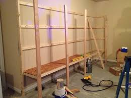 building wooden shelves in shed discover woodworking projects