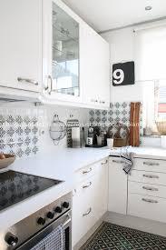 küche streichen aus blau wird weiss wohnkonfetti