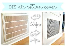 Decorative Wall Air Return Grilles by Wall Decor Stickers Custom Decorative Vent Cover In Arts And