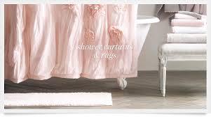 Light Pink Shower Curtain Curtains Ideas