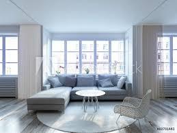 loft wohnzimmer fototapete