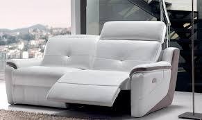 canapé relax 2 places électrique photos canapé 2 places relaxation électrique cuir