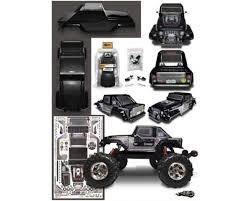 Firebrand RC Creepr Monster Truck Pre-Painted Body (Black ...