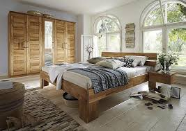 schlafzimmer 4teilig wildeiche massiv geölt casade mobila