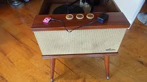 Magnavox Record Player Cabinet Astro Sonic by Spartan Vintage Record Player Consolette Playing Ipod Youtube