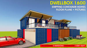 100 Shipping Containers 40 DWELLBOX 1600 ID S35521600 5 Beds 5 Baths 1600SFt