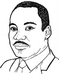 Pin Martin Luther King Clipart Jr Silhouette Printable 6