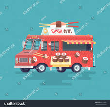 Colorful Flat Sushi Truck Japanese Traditional Stock Illustration ... Sushi Truck Template Design Vector Emblem Concept Creative Hot Wheels Sushi Truck Quick Bite Food Truck Fast Foodie 2018 Free And Fast Delivering Sushi To C Image Green Box Food Home Lakenheath Menu Prices Kosher Hits The Streets Of Nyc That Wwwharajukushiandcrepecom Colorful Flat Japanese Traditional Stock Illustration Suppliers China Trailer Manufacturer In My Little Pony Equestria Girls Minis Sunset Shimmer Vegan Uk Serving Vegan Rolls Really Good Whereshouldwegomsp Fix