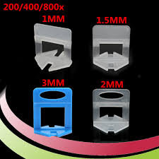 Floor Tile Leveling Spacers by 200 400 800pcs Tile Leveling System Levelling Clips For Wall Floor