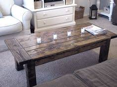 diy rustic wood coffee table makeover from an ikea coffee table