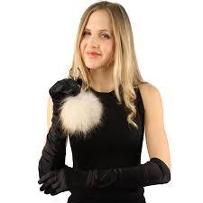 cc real fox fur pom pom ball rose gold tone handbags bag key ring