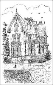 Victorian Fancy And Fantasy Adult Coloring