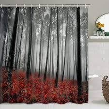 modernes timesm badezimmer dusche vorhang mystic forest badezimmer vorhang langlebig bad vorhang badezimmer zubehör ideen küche fenster vorhang