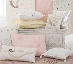 mermaid lumbar decorative pillow pottery barn kids
