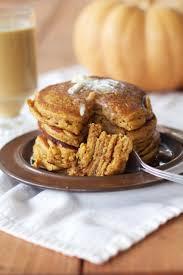 Easy Healthy Pumpkin Pancake Recipe by Pumpkin Buttermilk Pancakes