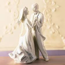 The First Dance wedding cake topper by Lenox is simply one of the