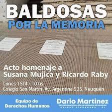 Baldosas Por La Memoriau201d VA CON FIRMA