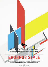 100 Bauhaus Style Pepin Artists Adult Colouring Book 16 Designs