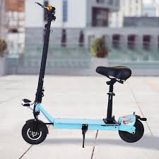 Ancheer Electric Scooters For Adults With Seat And Dual Suspension Foldable Escooter Women