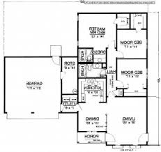Barndominium Floor Plans With Loft by House Plan Exciting One Story With Loft House Plans 58 On Interior