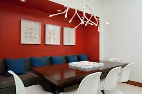 Sweet Idea Red Accent Wall Dining Room How To Create A Sensational With Panache Living In