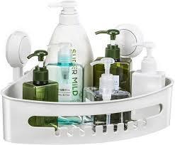 ulinek duschkorb ulinek eckregal dusche ablage ecke saugnapf duschkorb ohne bohren duschregal eckregal badezimmer duschablage für aufbewahrung