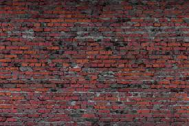 Dark Red Brick Backdrop