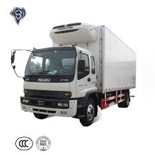 Light Duty Refrigerator Truck Diesel Freezer Box Seafood ...