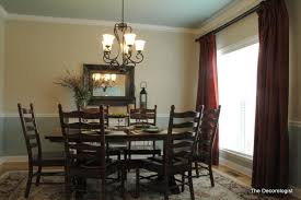Trendy Paint Colors For Dining Room With Chair Rail