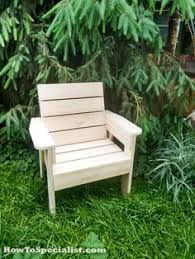 learn how to build a patio chair this is a fun and simple project