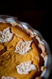 Keeping Pumpkin Pie From Cracking by Fluffy Pumpkin Pie Bake Love Give