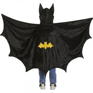 Creative Education's Hooded Bat Cape - One Size