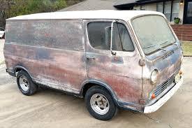100 Vans Trucks Psychedelic Patina 1964 Chevrolet G10 Van Barn Finds Pinterest