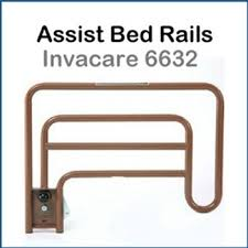 Halo Bed Rail by Invacare 6632 Bed Assist Rails For Low Hospital Bed Half Length