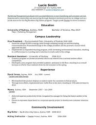 No Resume Sydney by Sle Resume For Nurses With No Experience Professional Resume