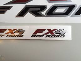 100 Ford Stickers For Trucks F150 FX4 Off Road Decal Truck Sticker Black Red Mt