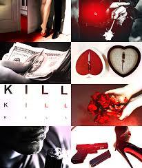 Aesthetic Couples Assassins Assassin Male Female Killer Couple Blood Trigger Warning Tw