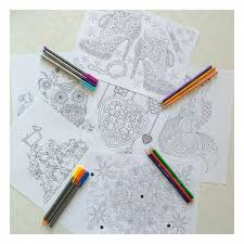 A Selection Of Coloring Pages