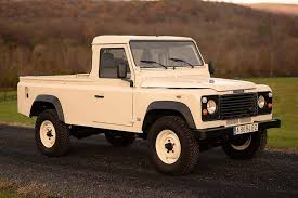100 Defender Truck 1991 Land Rover 110 Pickup HiConsumption