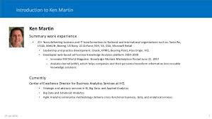 Boeing Enterprise Help Desk by Km Cognitive Computing Overview By Ken Martin 13apr2016