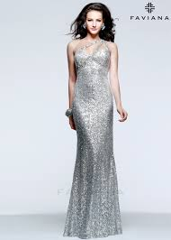 faviana 7532 silver one shoulder baby sequin dress rissyroos com