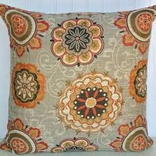 Orange Decorative Pillows Red Grey Decorative Pillow Cover